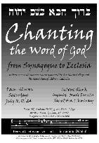 Chanting the Word of God – Association of Hebrew Catholics