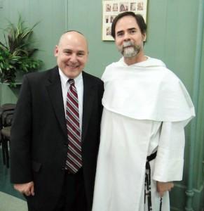 Ken Wilsker & Fr. Dominic Fields
