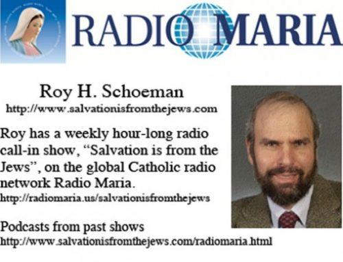Roy Schoeman – Radio Maria